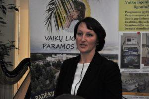 SAM Specializuotos sveikatos priežiūros skyriaus vedėja Inga Cechanovičienė