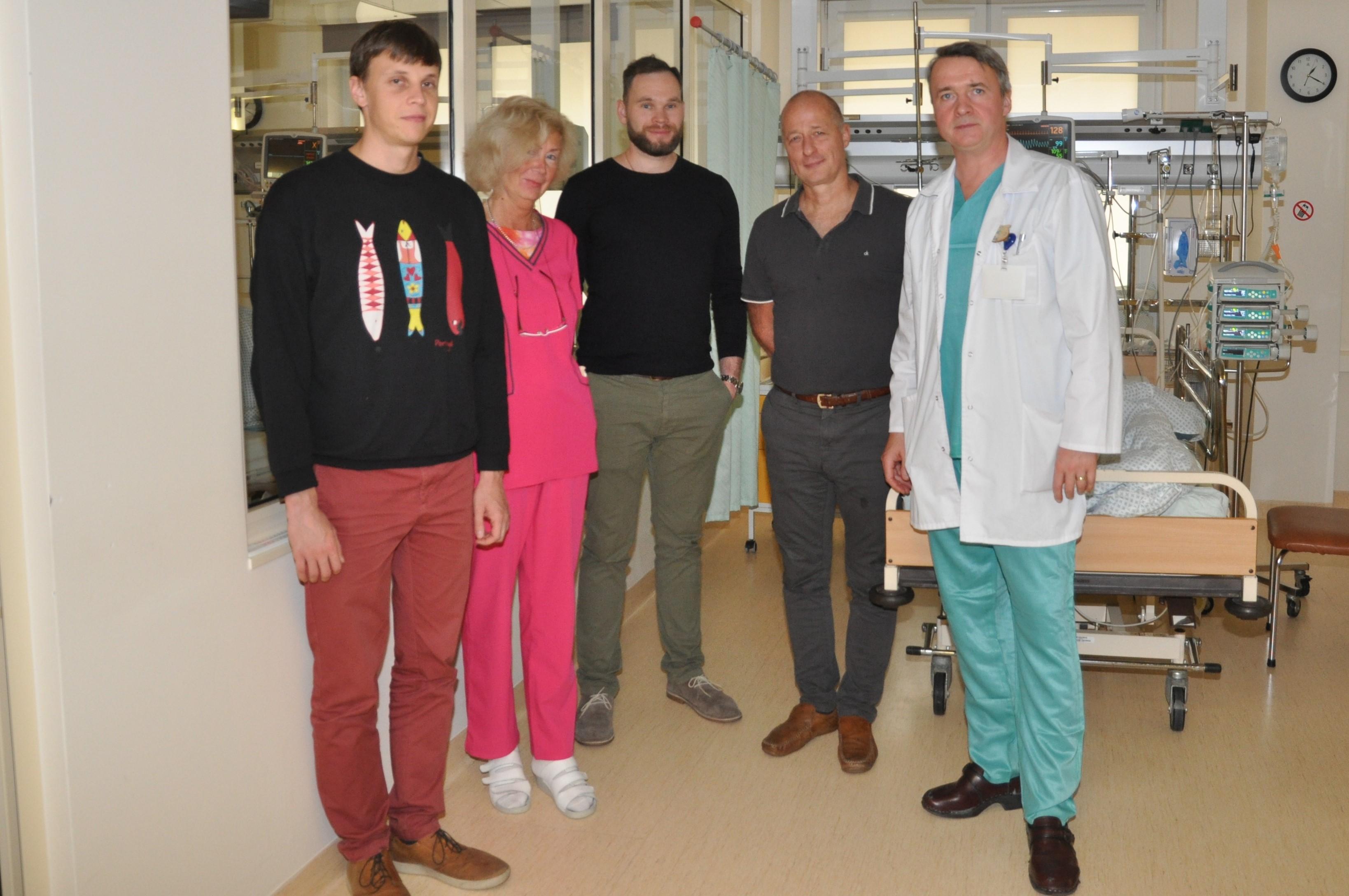Kaip hipertenzija gydoma ligoninėje?)