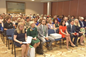 Konferencijos dalyviai ir svečiai