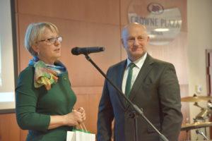 Sveikinimo žodį taria Seimo sveikatos reikalų komiteto pirmininkė Asta Kubilienė