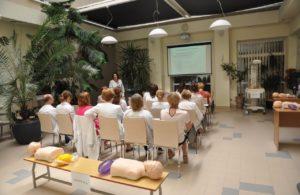 Mokymų seminaras. Vaiko gaivinimas