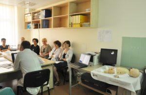 Mokymų seminaras. Šokas
