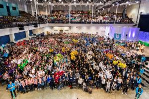 Pasaulinio konkurso dalyviai Bostone