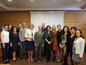 Vilniuje surengtoje konferencijoje pranešimus skaitė garsus vaikų nefrologas prof. Markas Mitsnefesas