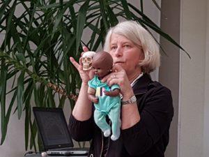 Nuotr. Prof. C. R. Smith iš JAV Neonatologijos centre