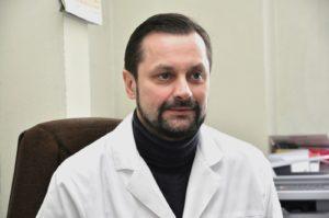 Nuotr. Lietuvos pediatrų draugijos pirmininkas doc. Vaidotas Urbonas