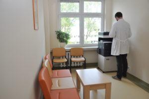 Įrengta patogių erdvių gydytojų ir slaugytojų darbui