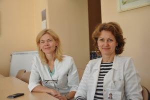 doc. Jelena Rascon ir gyd. Sigita Stankevičienė