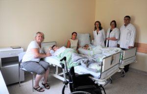 Dviem ligoninės pacientams buvo suleisti vaistai, padėsiantys išvengti sunkaus neįgalumo